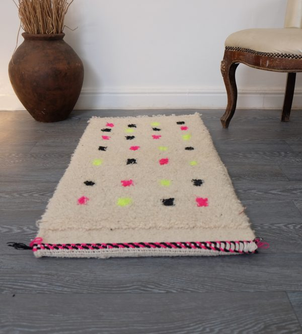 Moroccan Beni ourain Rug 3.28ft x 1.64ft