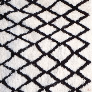 Beni ourain rug 7.87 ft x 4.56 ft