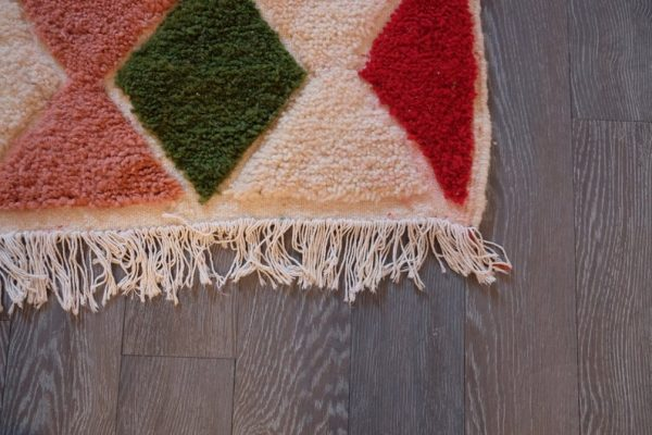 Moroccan rug 7.87 ft x 5.38 ft