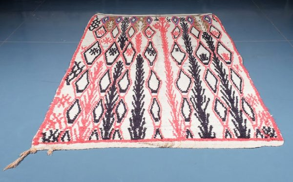 Moroccan Azilal Rug 7.54 ft x 5.24 ft